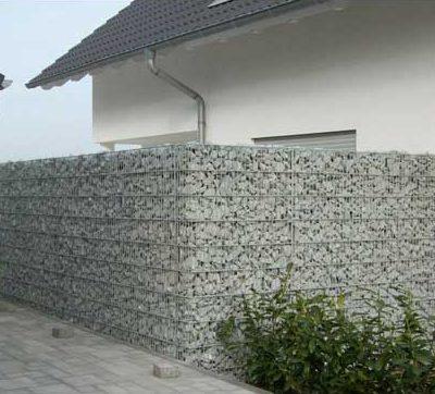 Naturstein Mauern Begrenzungszaungartendesign Killen
