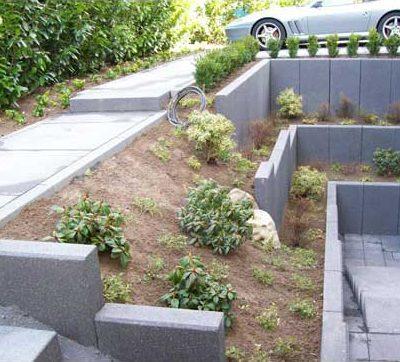 Naturstein Mauern Vorgarten Gartendesign Killen