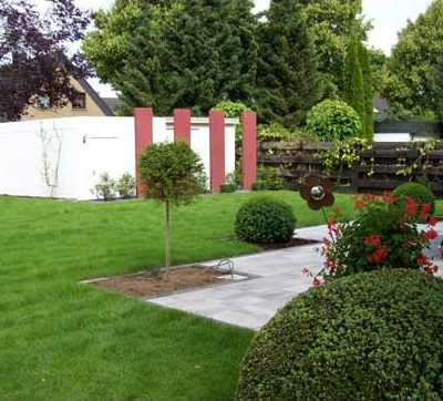 Pflanzungen Rollrasen Buxbaum Gartendesign Killen